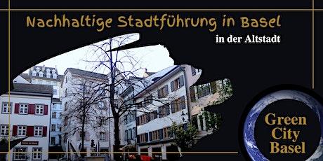 Nachhaltige Stadtführung in der Altstadt von Basel Tickets