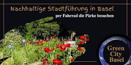 Von Park zu Park per Fahrrad mit kleinem Picknick billets