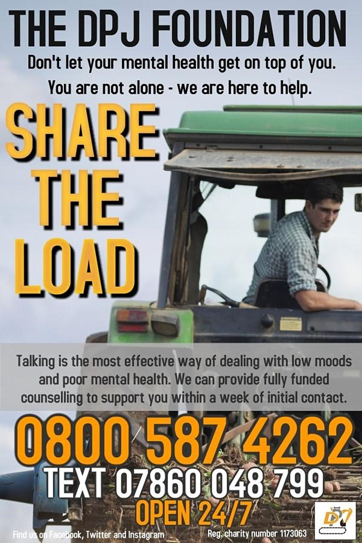 Mental Health Awareness In Agriculture image