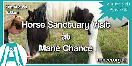 Appeer Autistic Girls Mane Chance Horse Sanctuary Visit (7-12 yrs) tickets