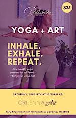 Yoga+Art tickets