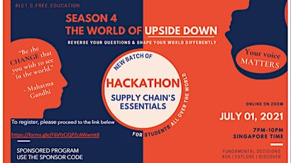 Supply Chain The WEB: Are You Questioning Enough? tickets