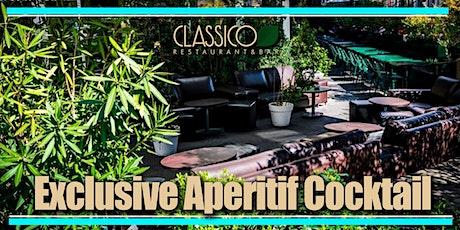 EXCLUSIVE APERITIF DRINK al CLASSICO...che meraviglia !! biglietti