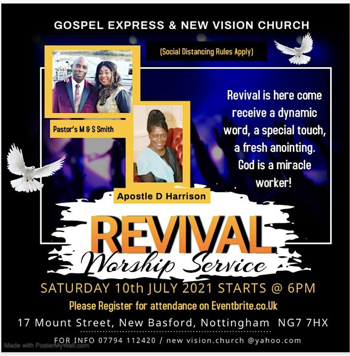 Revival  Worship Service image