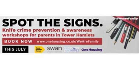 """""""We are Family"""" - A series of knife crime awareness & prevention workshops tickets"""