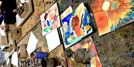 Kunst-Ferienwoche: Malen und zeichnen für Kinder Tickets