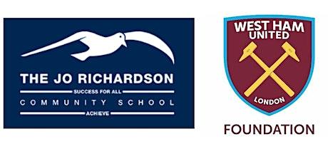 WHU Foundation - Healthy Hammers - Jo Richardson School - Week 3 tickets