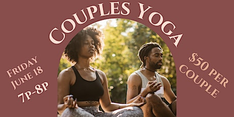 Couples Yoga tickets