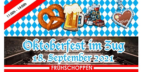 Oktoberfest im Zug 10:30h - 14:00h tickets
