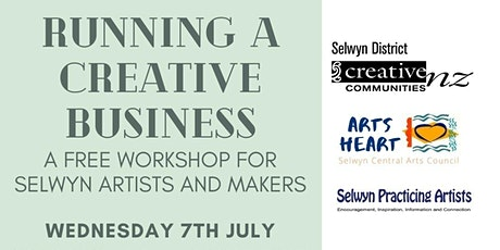 Running a Creative Business - Workshop for Selwyn Creatives tickets