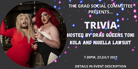 TRIVIA - Hosted by DRAG QUEENS Toni Kola and Nigella Lawsuit tickets