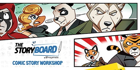 Comic Making Workshop with Mayamada tickets