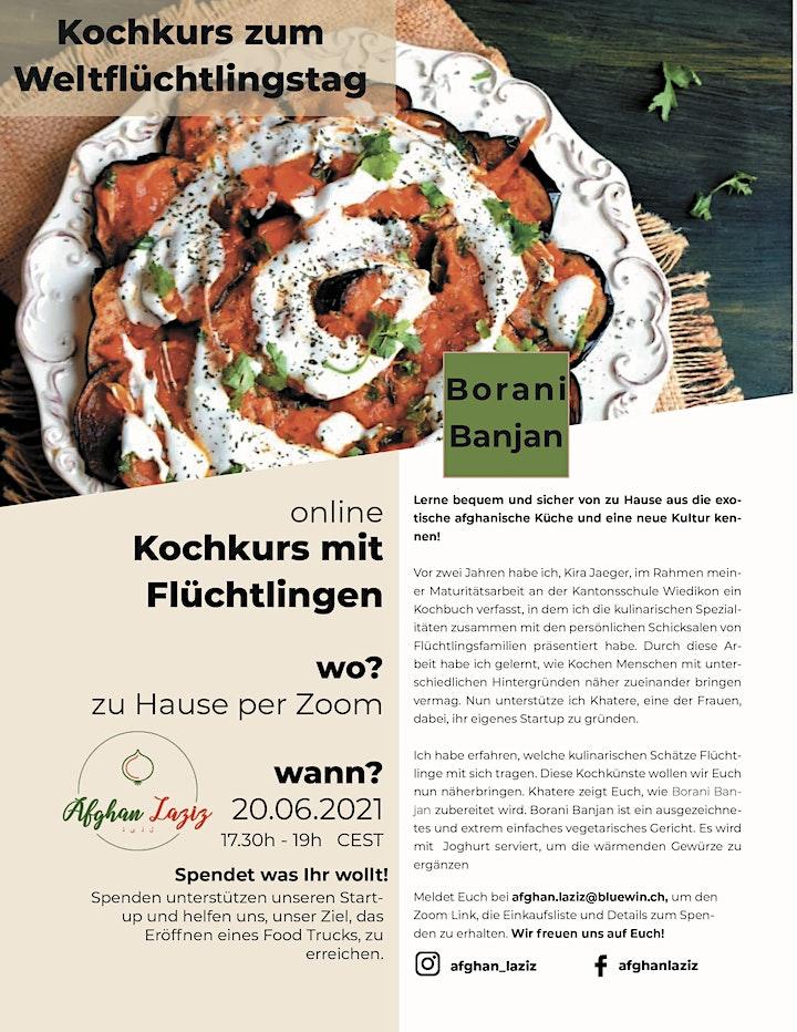 Weltflüchtlingstag Kochkurs: Bild