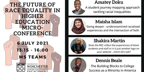 The Future of Race Equality in Higher Education Micro-Conference tickets