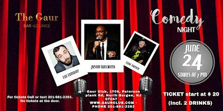 Live Comedy Thursdays @ Gaur Club on Thursday, 24th June, 2021 tickets