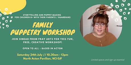 Family Puppetry Workshop tickets