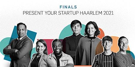 Finale Present Your Startup Haarlem 2021 billets