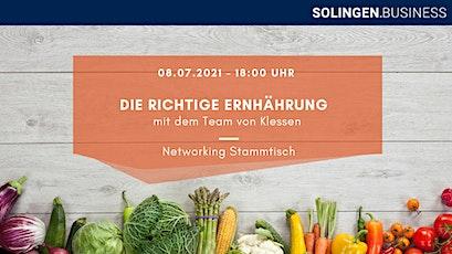 Richtige Ernährung - Networking Stammtisch Tickets