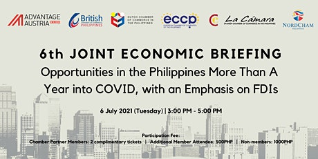 6th Joint Economic Briefing tickets