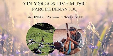 Yin Yoga & Live Music with Ludmila & Martin billets
