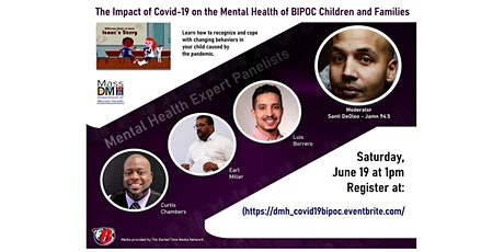 The Impact of Covid-19 on the Mental Health of BIPOC Children and Families tickets