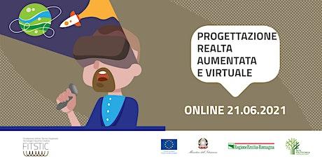 2021 OPEN DAY ONLINE - Progettazione realtà aumentata e virtuale biglietti