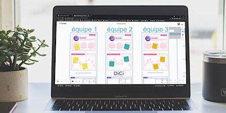 1ers pas en design thinking - découvrir la création centrée utilisateurs billets