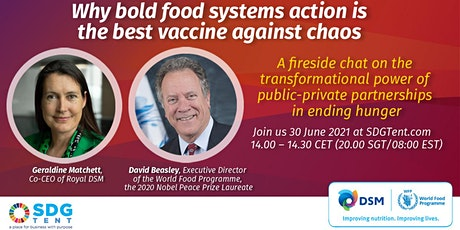 Why Bold Food Systems Action is the Best Vaccine Against Chaos tickets