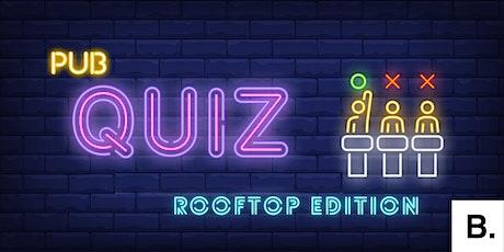 B. Presents: return of the Pub Quiz tickets