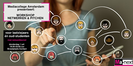 Workshop netwerken & pitchen | voor laatstejaars en oud-studenten | 1 juli tickets