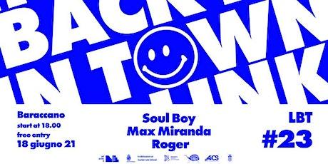 Link Back in Town #23 // I Giardini del Baraccano Festival biglietti