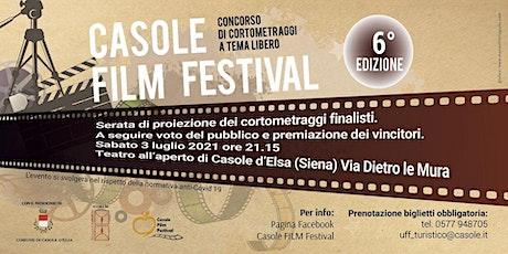 Casole Film festival 2021 biglietti