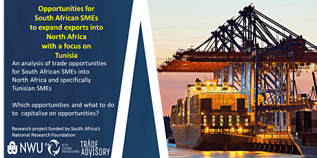 Opportunities to expand exports into North Africa with a focus on Tunisia tickets