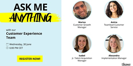 Ask Me Anything Session with our Customer Experience Team tickets