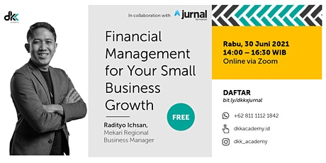 Financial Management for Your Small Business Growth tickets
