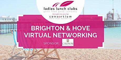 Virtual Brighton & Hove Ladies Lunch Club - 5th October 2021 tickets