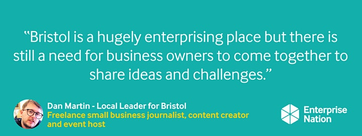 Online small business meet-up: Bristol image