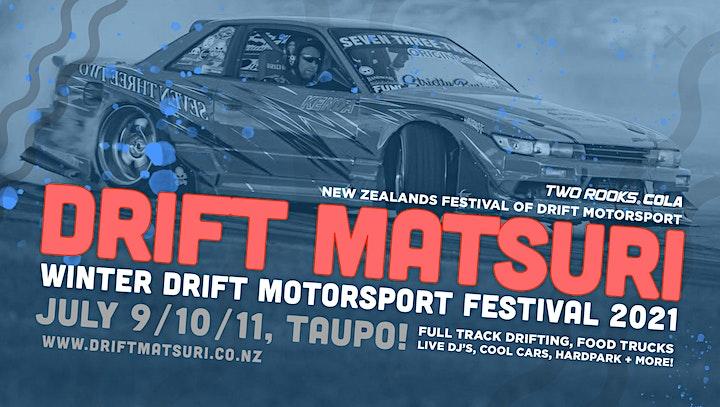 Winter NZ Drift Matsuri Festival 2021 (Taupo) image