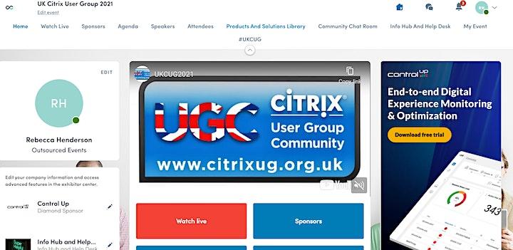 UK Citrix User Group 2021, Autumn Meeting image