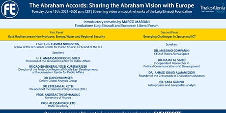 The Abraham Accords: Sharing the Abraham Vision with Europe biglietti