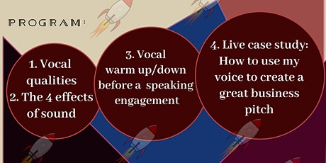 FREE WEEKLY BODY LANGUAGE & VOICE MASTERY LIVE CLASS & Q&A SESSION tickets
