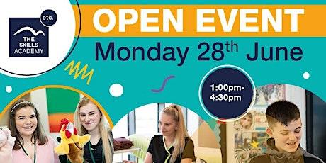 Skills Academy Open Event tickets