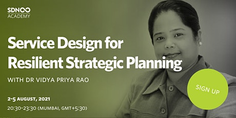 Service Design for Resilient Strategic Planning tickets