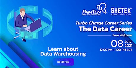 The Data Career - An In-depth Look At Data Warehousing biglietti