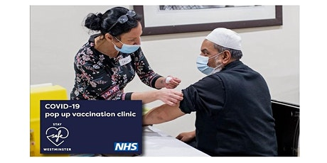 Copy of Westminster - Over 40's Vaccination Event tickets