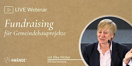 Live-Webinare: Fundraising für Kirchengemeinden tickets