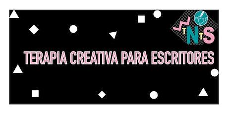 Terapia Creativa para escritores - £15 boletos