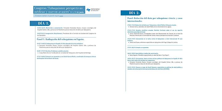 Imagen de Congreso 'Tabaquismo, perspectivas médicas y nuevos avances'