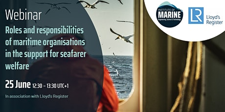 WEBINAR: Role of maritime organisations in supporting seafarer welfare tickets