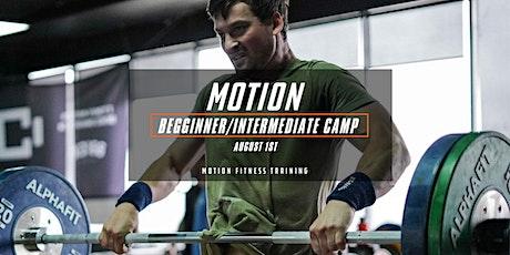 Motion Beginner/Intermediate Training Camp tickets
